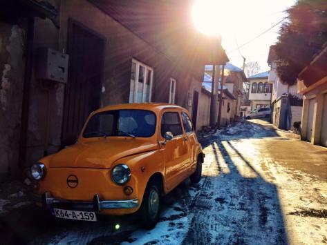 Barrio típico de Sarajevo