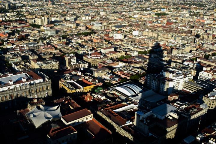02 Vista del centro histórico de México