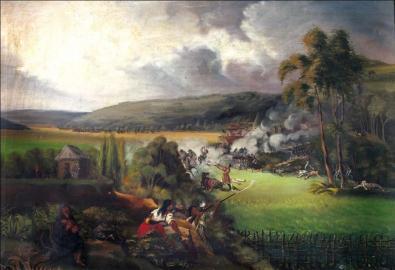 Batalla de los Ejidos de Pasto de José María Espinosa, 1845 - 1860. http://recursos.bibliotecanacional.gov.co/content/jos%C3%A9-mar%C3%AD-espinosa-el-artista-como-historiador