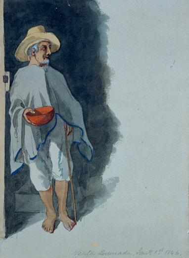 La Totuma de Chicha de Edward Walhouse Mark, 1846. http://banrepcultural.org/coleccion-de-arte-banco-de-la-republica/artista/edward-walhouse-mark