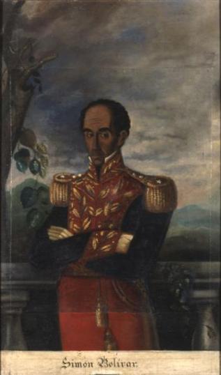 Simón Bolívar de José María Espinosa, 1830. http://recursos.bibliotecanacional.gov.co/content/jos%C3%A9-mar%C3%AD-espinosa-retratos