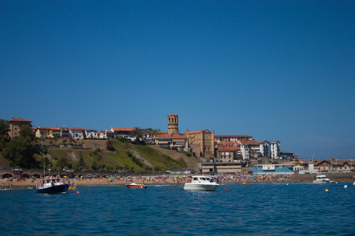 26. Getaria from the sailing boat