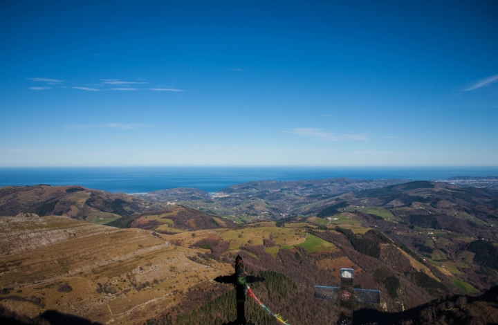 5. Orio coastline from Ernio´s summit