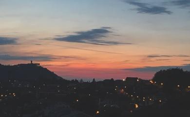 Atardecer desde Aiete - San Sebastián