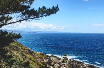 El azul mar cantábrico
